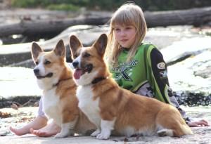 My daughter with Meagan and Kiara